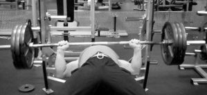 315 lb Bench Press Lowered | TheMuscleProgram.com