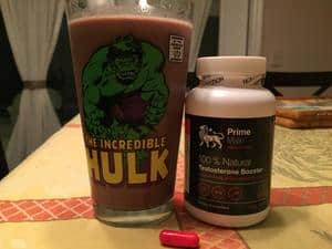 Post Workout Shake and Prime Male