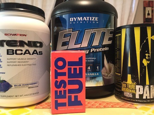 Supplement Stack with TestoFuel