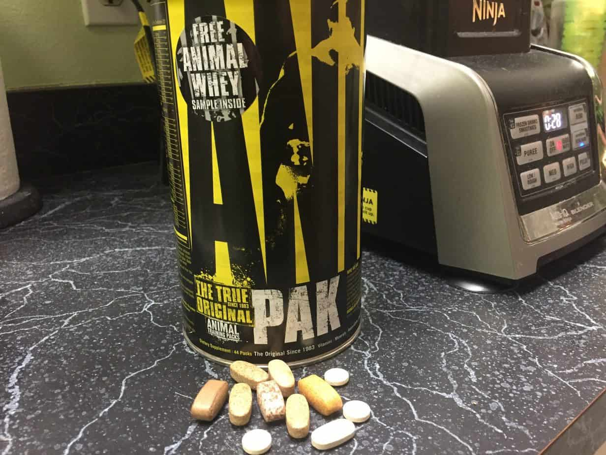 animal pak review for building muscle