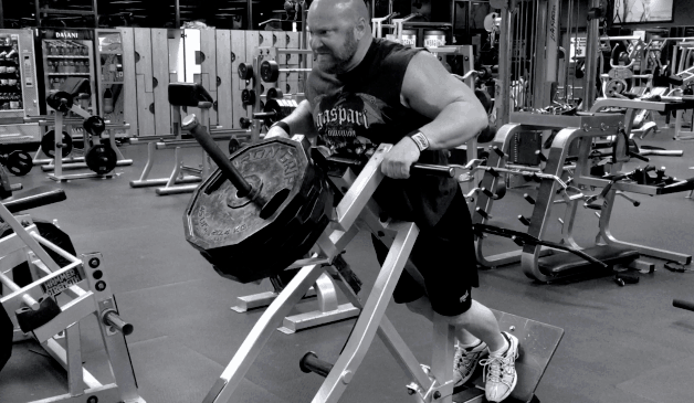 plate loaded rows for a massive back