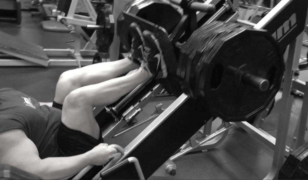 Leg Press close stance