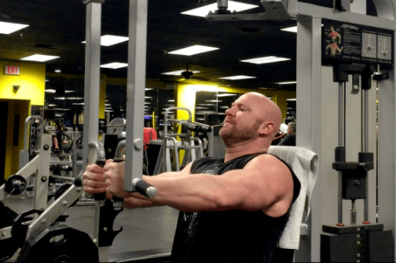 pec dec flyes chest exercises