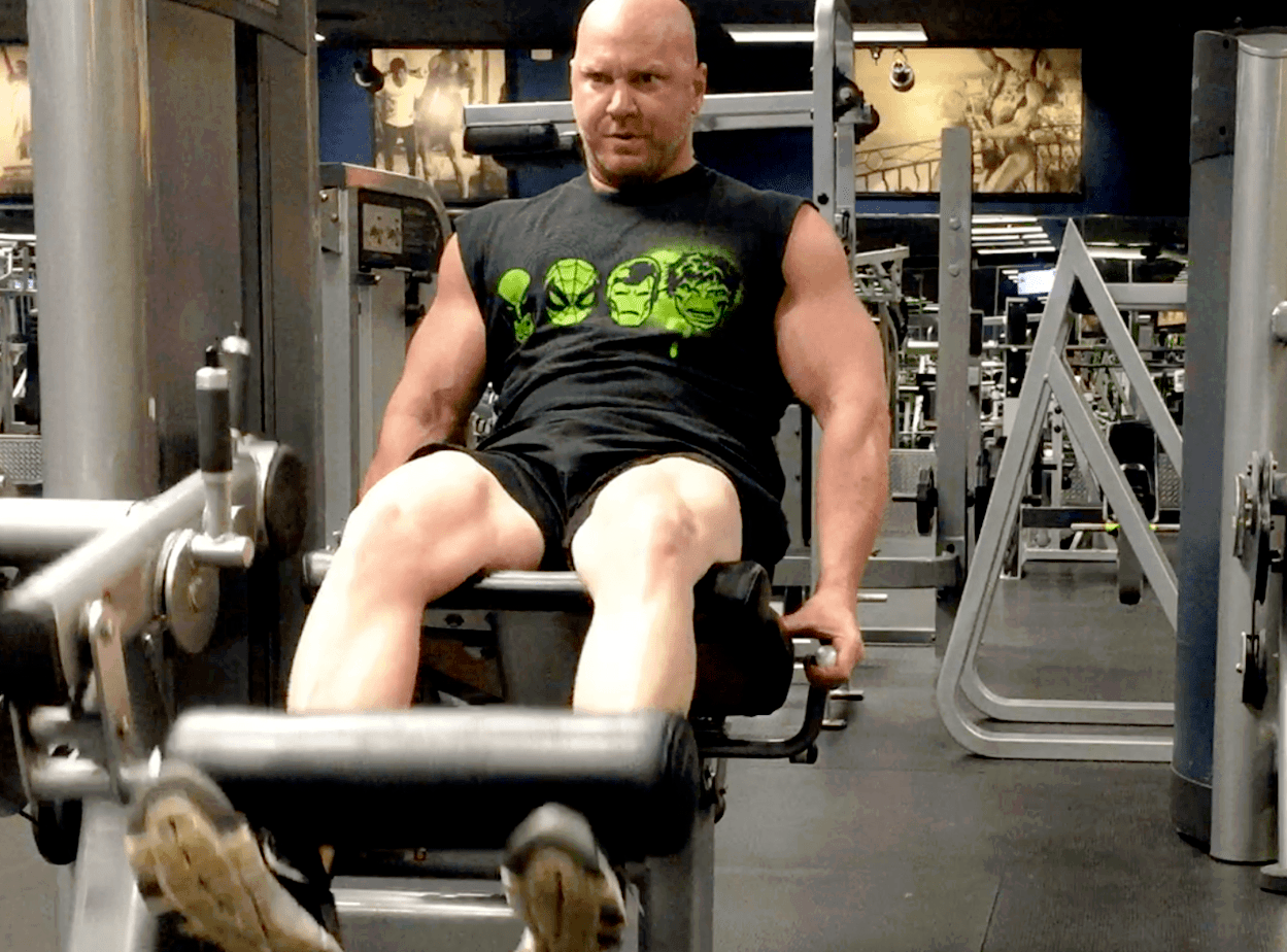 training legs twice a week