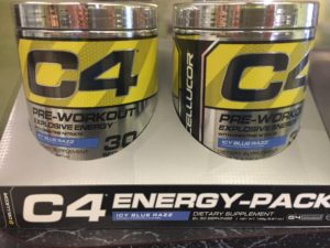 Cellucor C4 Preworkout Explosive Energy