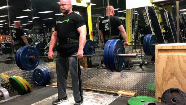 deadlifts legs and arms 10 x 10