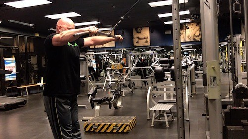 cable pullovers back exercise