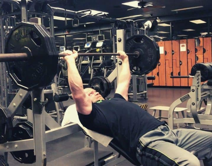 incline barbell press chest day chest exercises