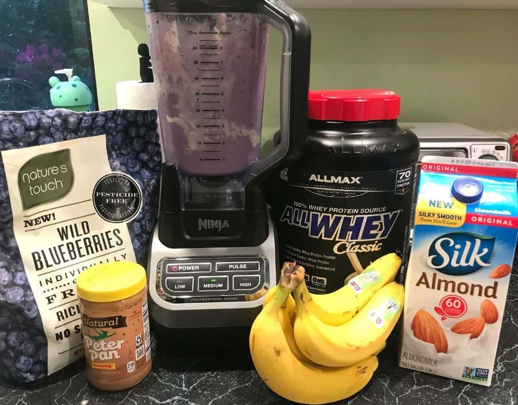 muscle building post workout shake