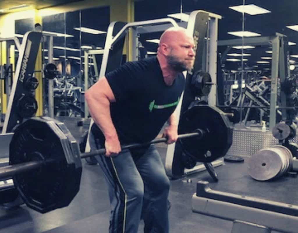 Barbell Rows back exercises for bodybuilding mass