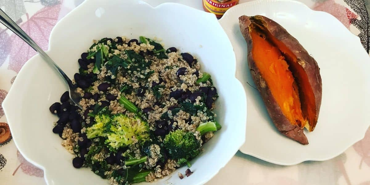 plant based muscle building meal plan