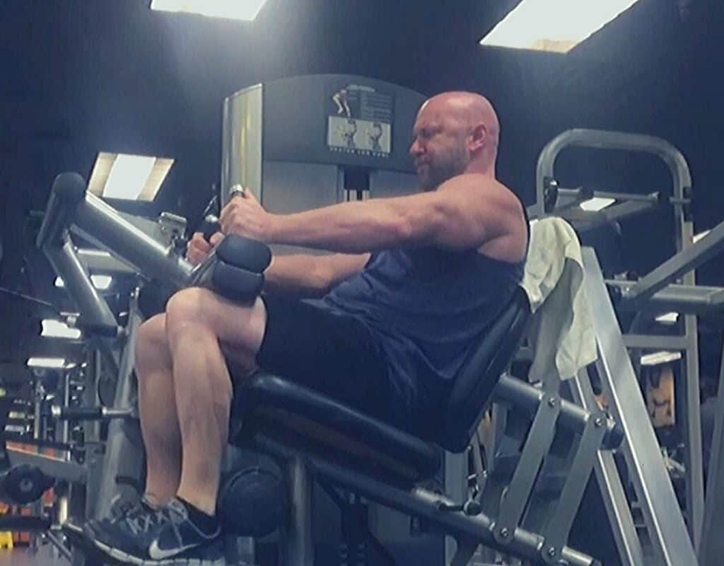 Seated Leg Curls bodybuilding leg workout