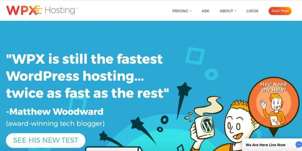WPX best web hosting for fitness blogs