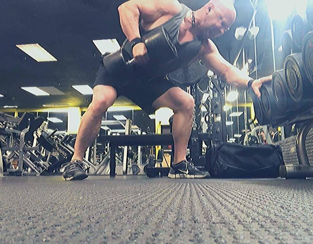 heavy dumbbell rows