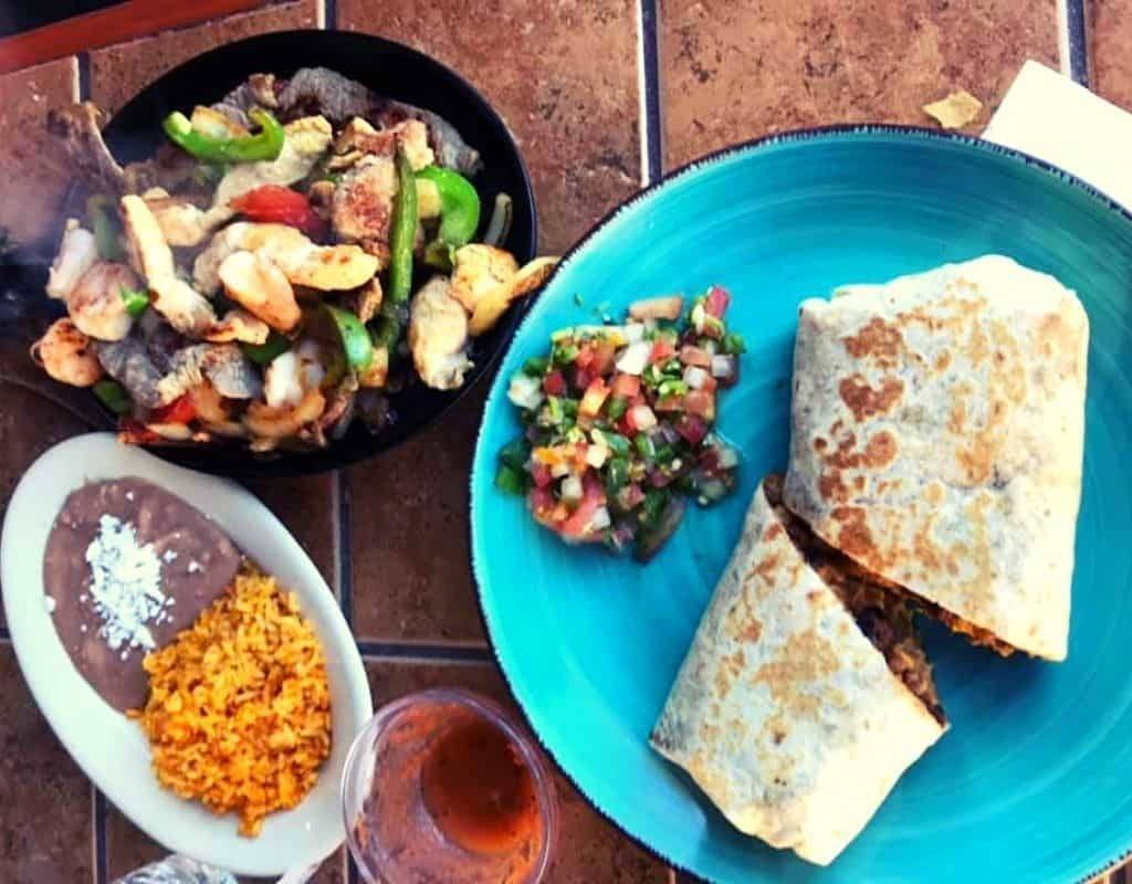 Mexican food for clean bulking mass gains