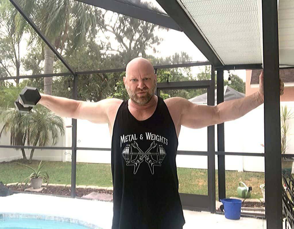 Shoulders - Lateral raises with dumbbells1