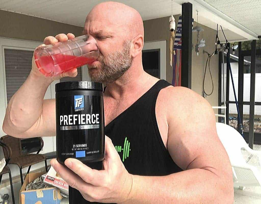 TruFierce PreFierce pre workout powder energy drink