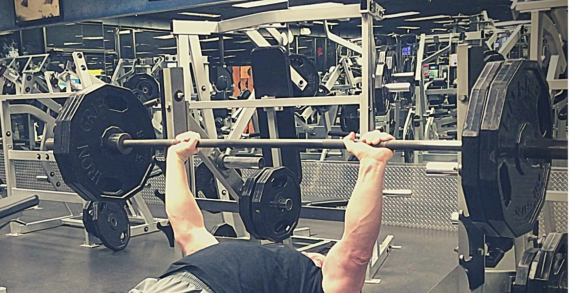 increase your bench press after taking a break from the gym