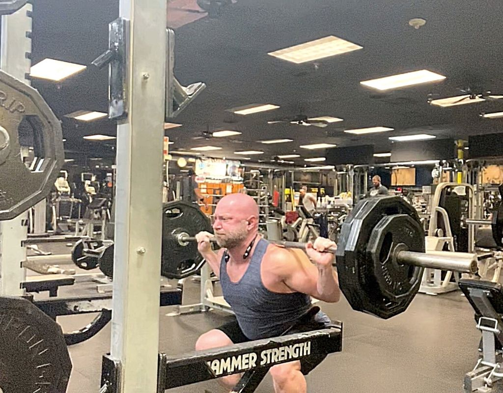 Legs - Squats for mass