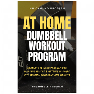 At Home Dumbbell Workout Program ebook cover