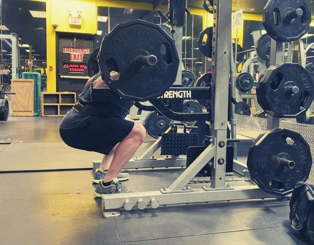 Squats - parallel perfect squat
