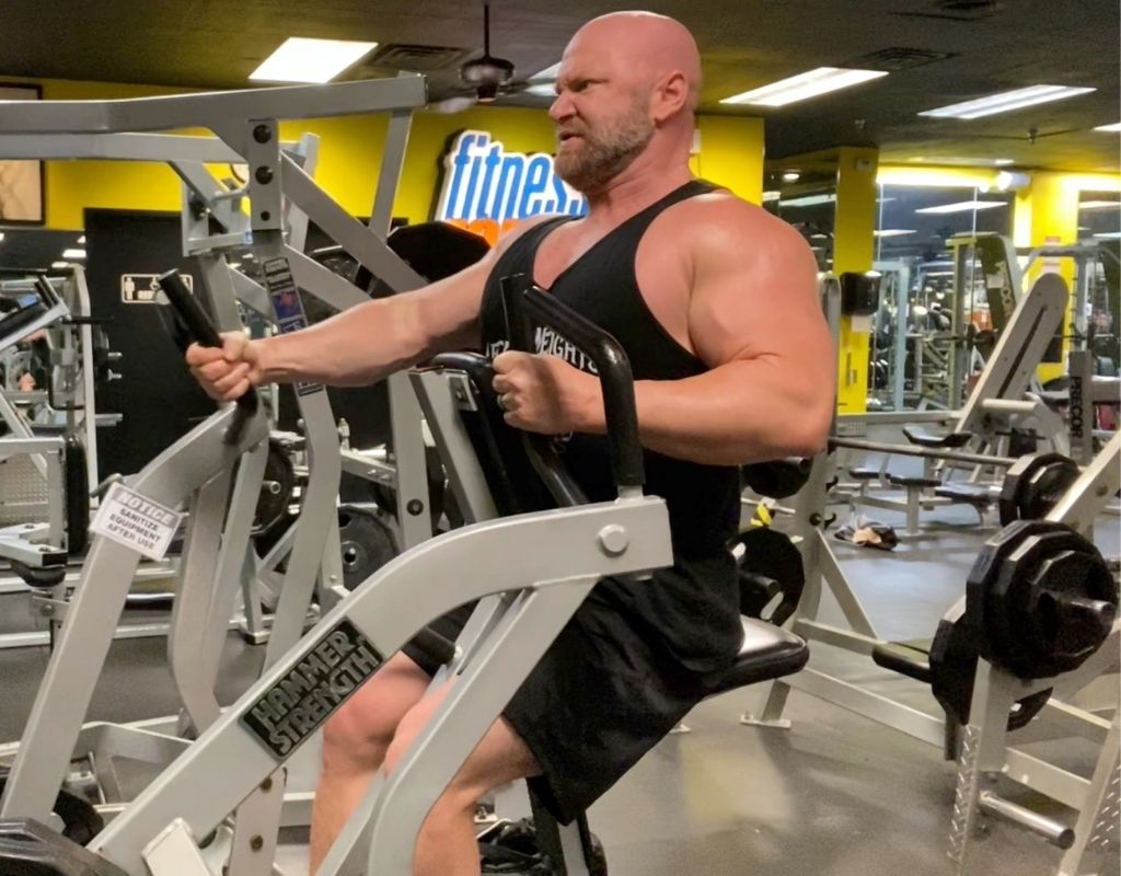 hammer strength rows unilateral