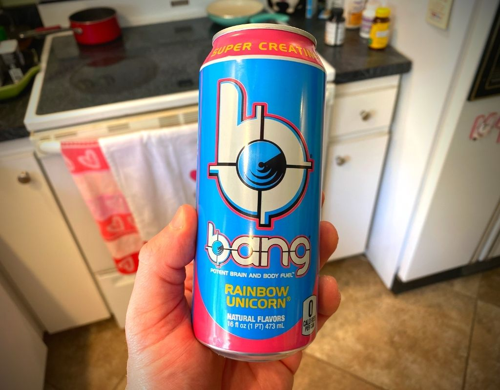 Bang energy drink pre workout