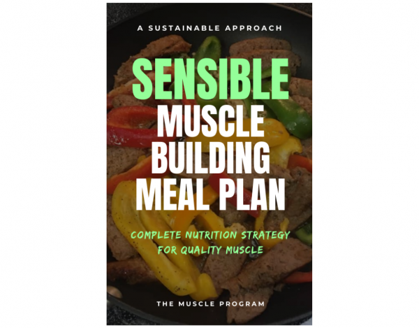 Sensible Muscle Building Meal Plan eBook cover